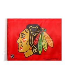 Rico Industries  Chicago Blackhawks Car Flag