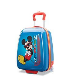 """Disney Mickey Mouse 18"""" Hardside Carry-on Luggage"""