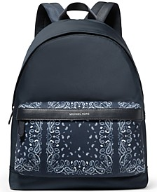 Men's Kent Bandana-Print Backpack