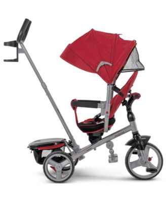 Huffy Malmo Luxe Canopy Tricycle with Push Handle
