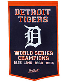 Winning Streak Detroit Tigers Dynasty Banner