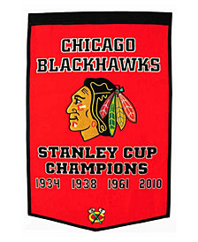 Winning Streak Chicago Blackhawks Dynasty Banner