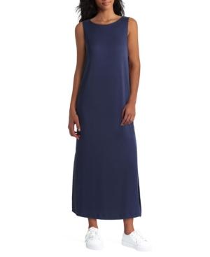 Women's Sleeveless Pleated Back Dress