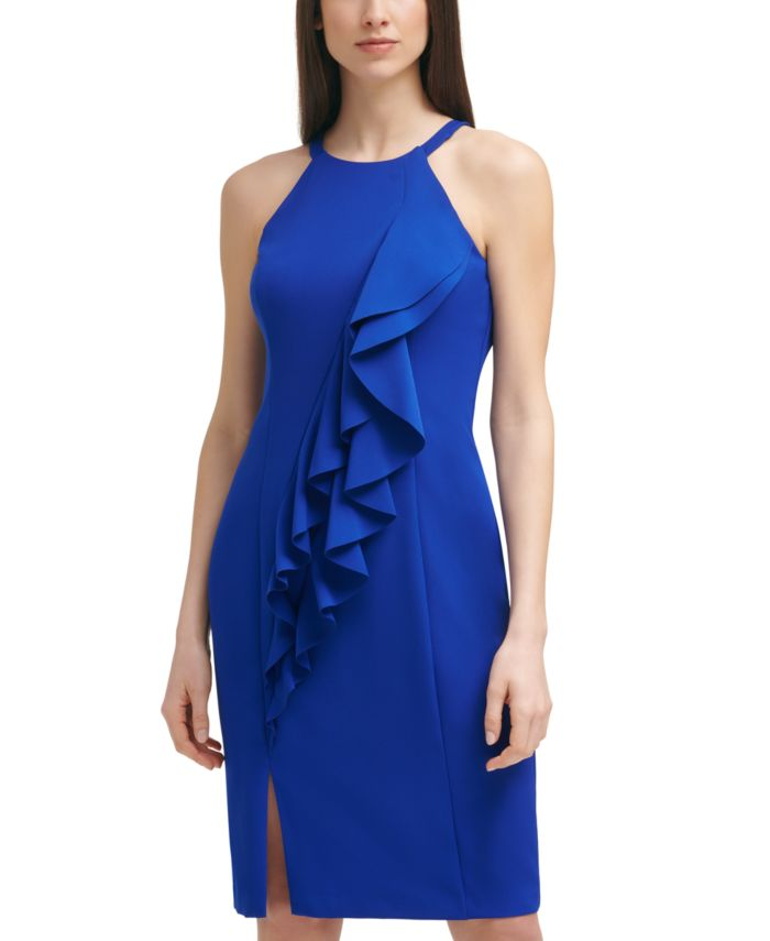 Vince Camuto Halter Bodycon Dress & Reviews - Dresses - Women - Macy's
