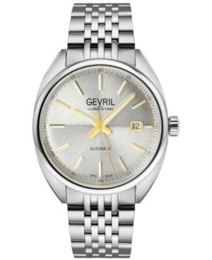 Men's Five Points Swiss Automatic Stainless Steel Bracelet Watch 47.5mm