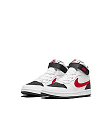Little Boys Court Borough Mid 2 Casual Sneakers from Finish Line