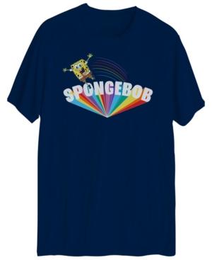 Men's Spongebob Pride Short Sleeve Graphic T-shirt