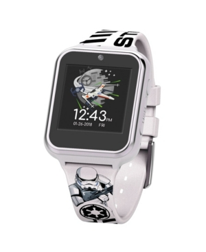 Star Wars Kid's Storm Trooper Touch Screen White Silicone Strap Smart Watch