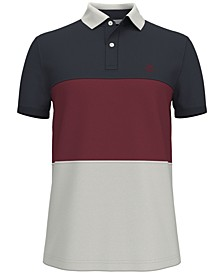 Men's Big & Tall Classic-Fit Merit Colorblocked Polo