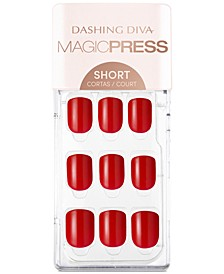 MAGICPRESS Press-On Gel Nails - Cherry Popsicle