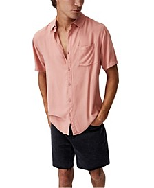 Men's Cuban Short Sleeve Shirt