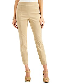 Petite Front-Seam Skinny Pants, Created for Macy's