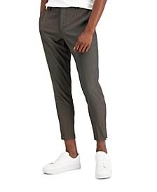 Men's Slim-Fit Dot Dobby Dress Pants, Created for Macy's