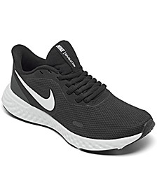 Women's Revolution 5 Wide Width Running Sneakers from Finish Line