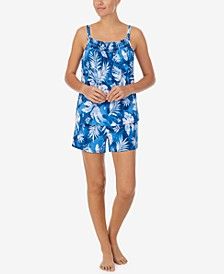 Cotton Tank & Shorts Pajama Set