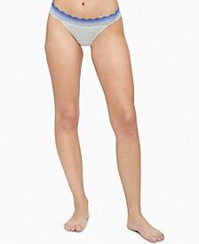 Women's Lace-Trim Thong Underwear QD3837
