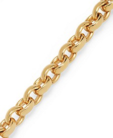Signature Gold™ Rolo Chain Bracelet in 14k Gold over Resin