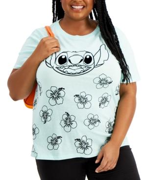 Trendy Plus Size Stitch Graphic T-Shirt
