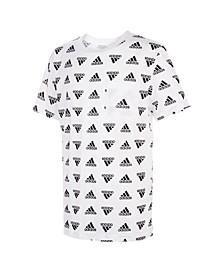 Big Boys Short Sleeve Brand Love Printed T-shirt