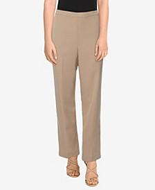 Petite Size San Antonio Twill Mid-Rise Short Length Pant