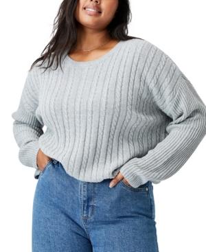 Trendy Plus Size Riley Cotton Knit Jumper