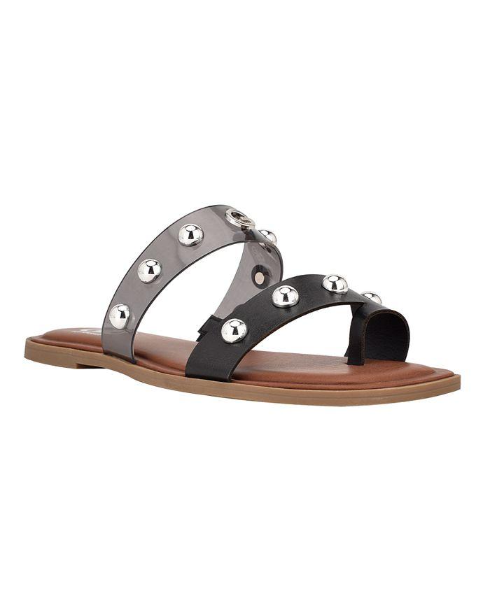 GBG Los Angeles Women's Ritsa Studded Slide Sandals