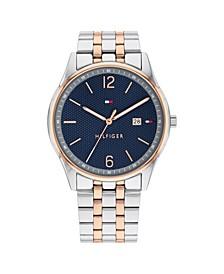 Men's Two-Tone Stainless Steel Bracelet Watch 42mm