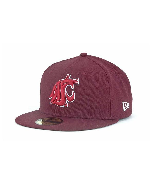 New Era Washington State Cougars 59FIFTY Cap