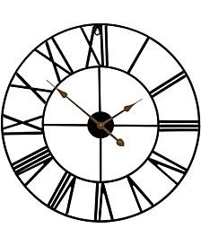 Large Decorative Analog Wall Clock