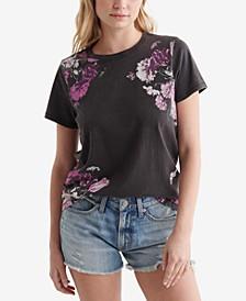 Classic Floral-Print T-Shirt