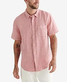 Men's Short Sleeve San Gabriel Linen Shirt