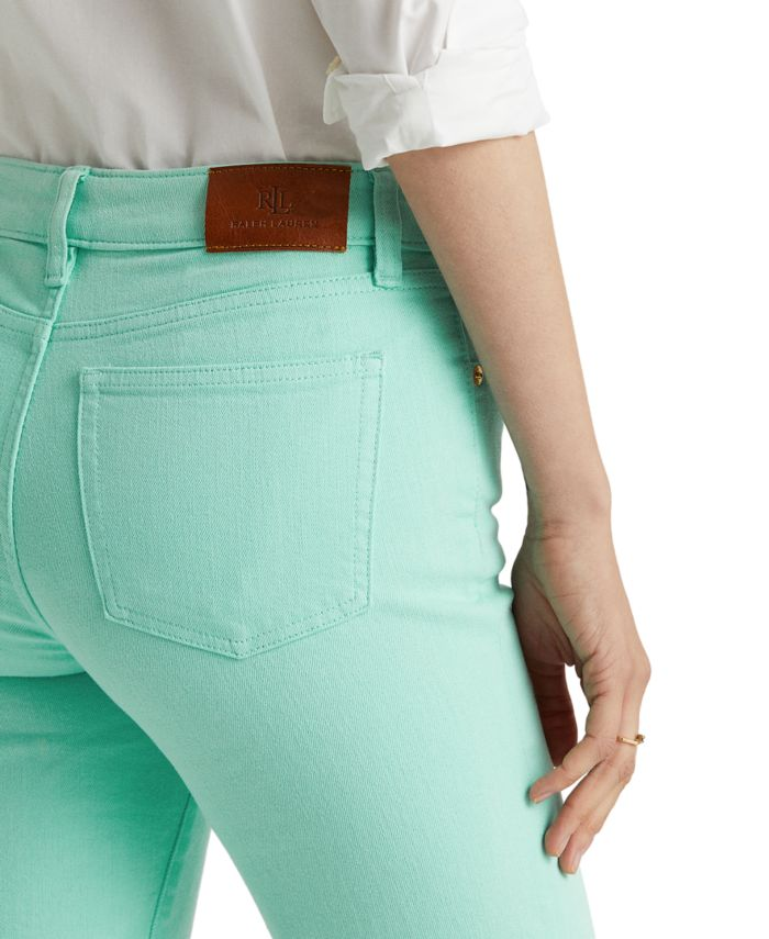 Lauren Ralph Lauren Stretch-Infused Bermuda Shorts  & Reviews - Shorts - Women - Macy's