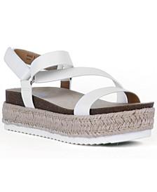 Iman Strappy Espadrille Sandals