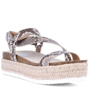 Iman Strappy Espadrille Sandals Women's Shoes