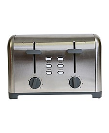 4-Slice Toaster with Dual Controls