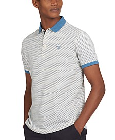 Men's Chris Geo-Print Polo Shirt