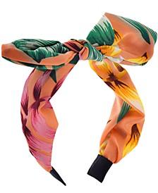 INC Printed Bow Headband, Created for Macy's