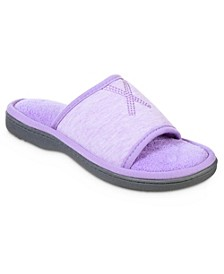 Women's Heathered Jersey Tavi Slide Slipper