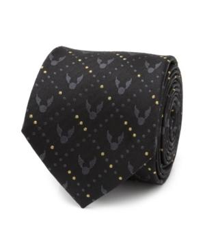 Men's Golden Snitch Silk Tie