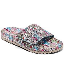 Women's BOBS Pop-Ups 2 - Spring Crush Slide Sandals from Finish Line