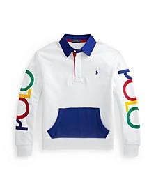 Big Boys Logo Rugby Sweatshirt