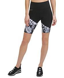 Sport Women's Tie-Dyed Bike Shorts