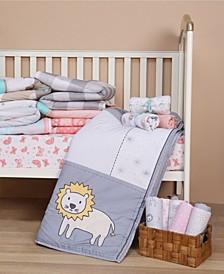 Nursery 4 Piece Bedding Crib Set Collection