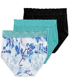 Women's 3-Pk. No Panty Line Promise® Lace Hip Brief