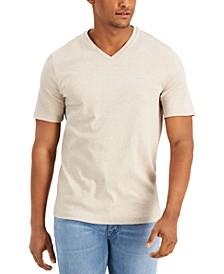 Men's Solid V-Neck T-Shirt
