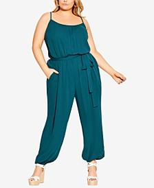 Trendy Plus Size Villa Capri Jumpsuit