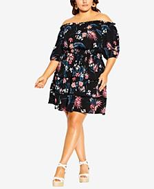 Trendy Plus Size Fiesta Dress
