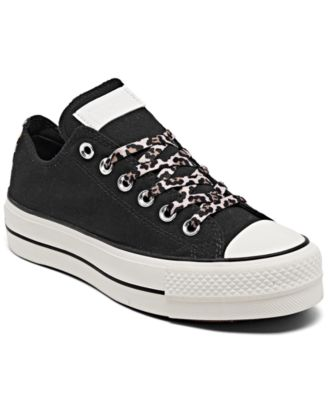 Women's Chuck Taylor All Star Archive Print Platform Ox Low Top Casual Sneakers from Finish Line