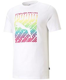 Men's Pride Logo Graphic T-Shirt