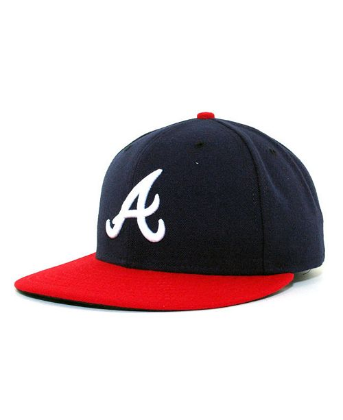 3b74b49e0bac81 ... New Era Atlanta Braves MLB Authentic Collection 59FIFTY Fitted Cap ...